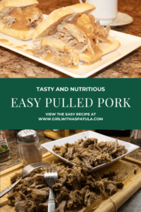 Pulled Pork in plates PIN