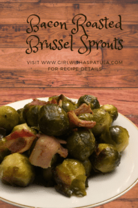 Roasted Bacon Brussel Sprouts