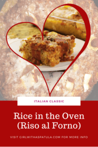 Rice in the oven Pinterest PIN