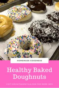 Healthy Baked Doughnuts Pin for Pinterest
