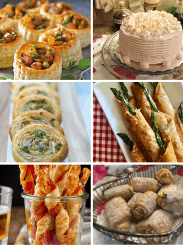 Phyllo Dough and Puff Pastry Featured Image Recipe examples