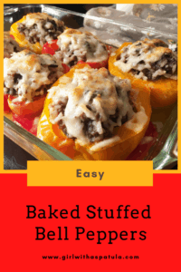 Easy Baked Stuffed Peppers 3