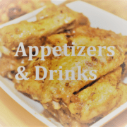 Appetizers and Drinks