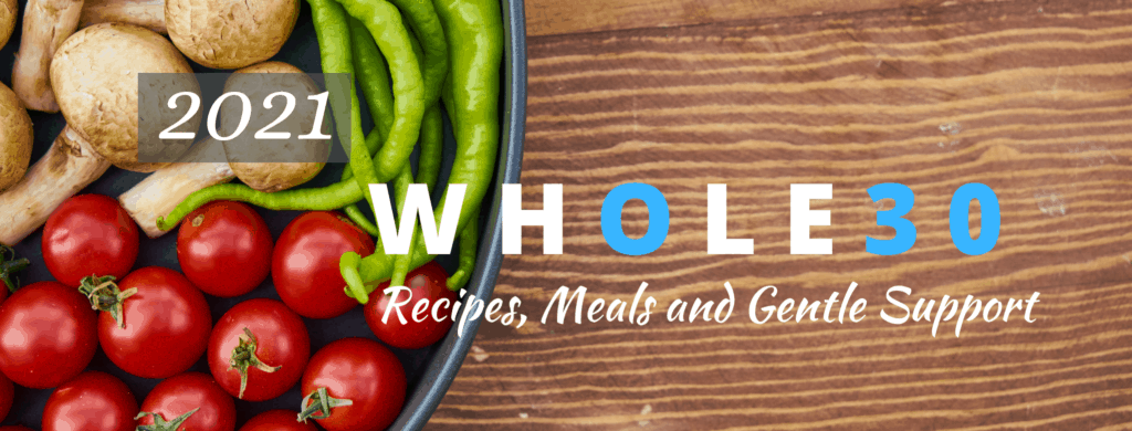 Whole30 Facebook Cover