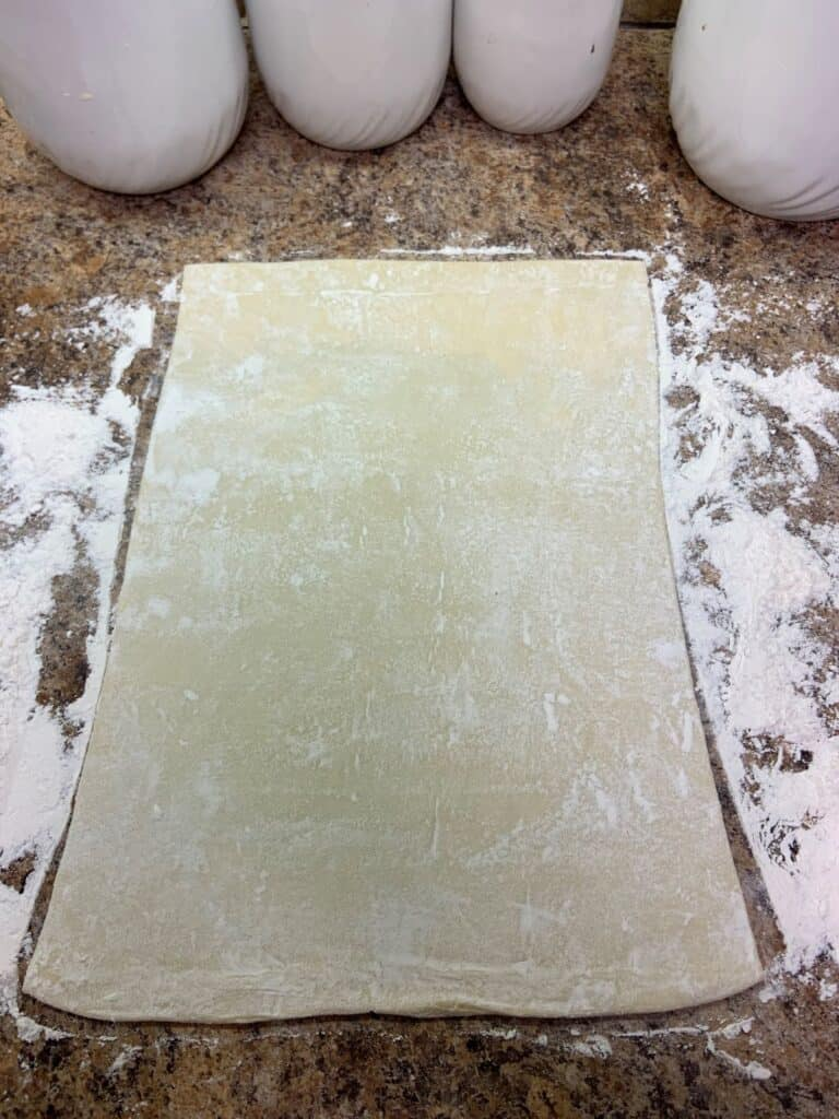 Puff Pastry on Counter