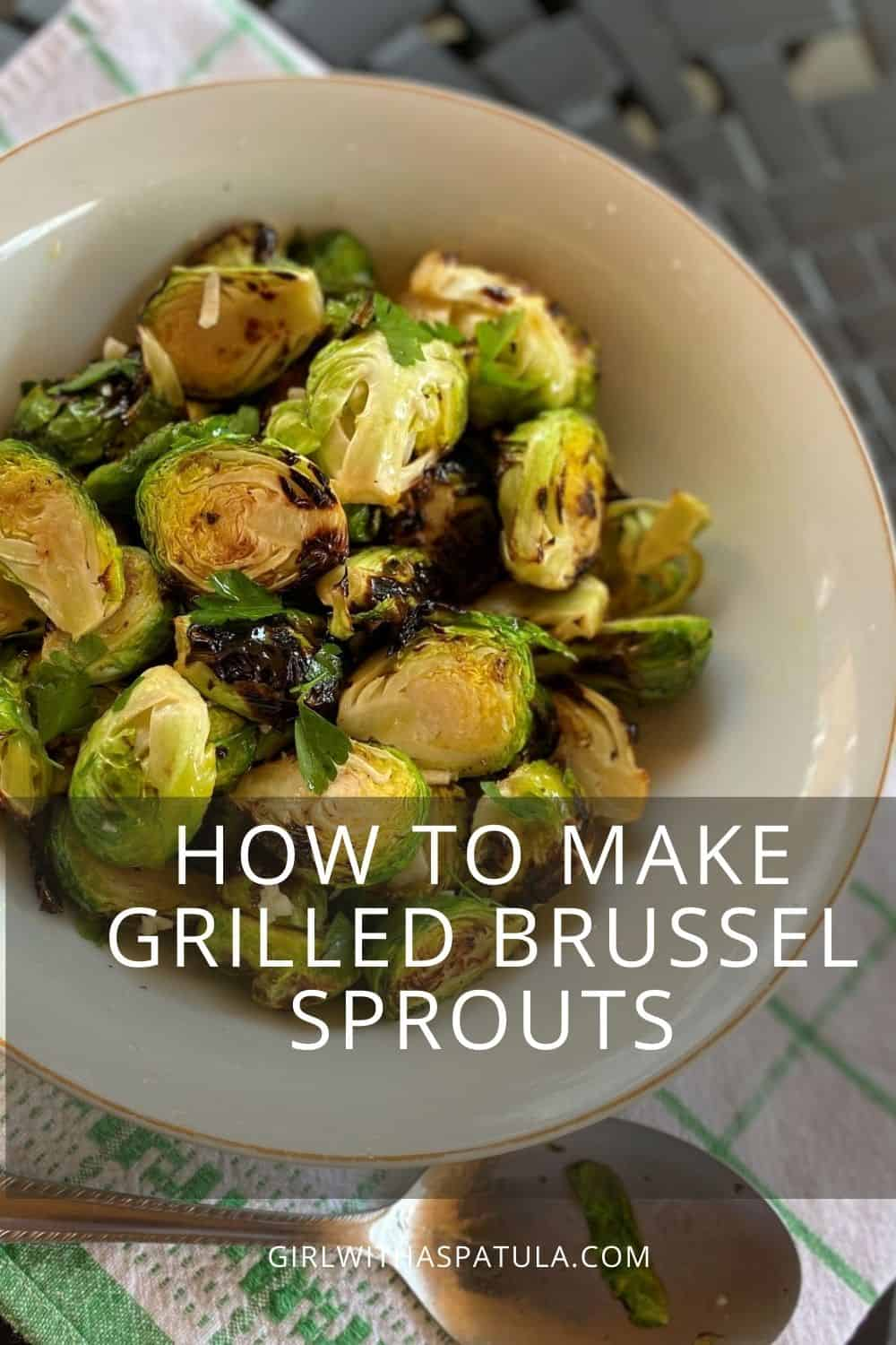 grilled brussel sprouts PIN for Pinterest